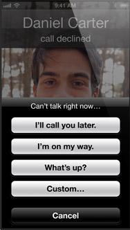 vad betyder stängt för inkommande samtal