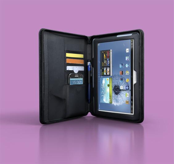 Samsung Galaxy Note 10.1 med CEO-case